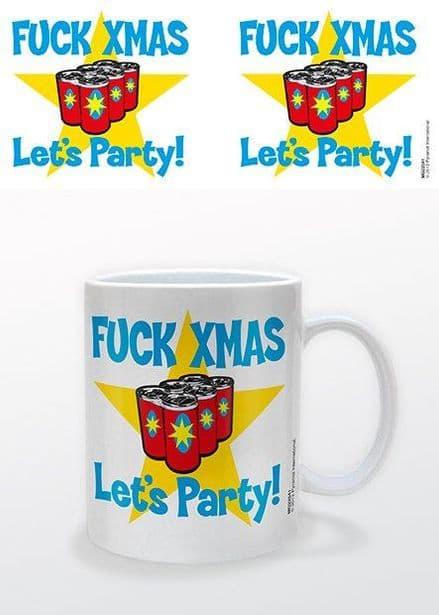 """""""F*ck Xmas"""" Mug"""