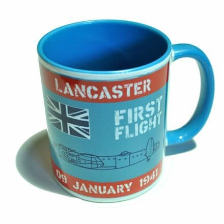 """First Flight"" Lancaster Ceramic Mug"
