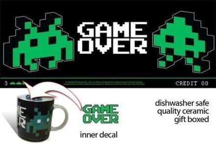"""Game Over"" Retro Gaming Inspired Coffee/Tea Mug"