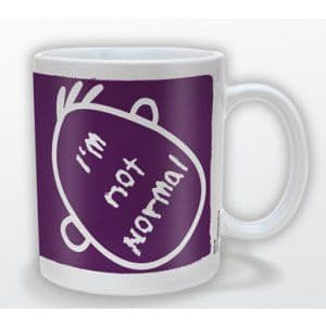 """I'm Not Normal"" Mug"