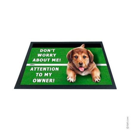 3D-Effect Novelty Doormat - Dog