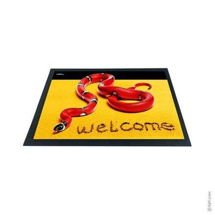 3D-Effect Novelty Doormat - Snake