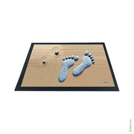 3D-Effect Novelty Doormat - Zen