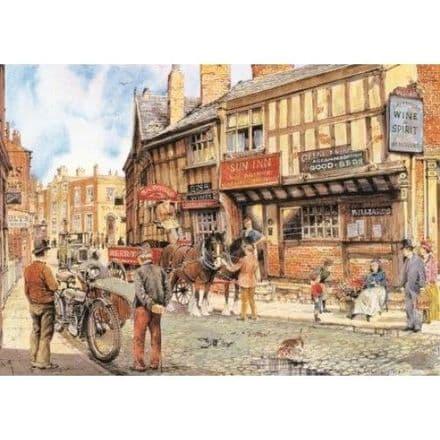 A Village Street 2 - 1000 Piece Jigsaw Puzzle