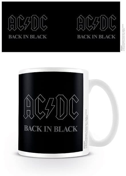 AC/DC Back In Black Mug