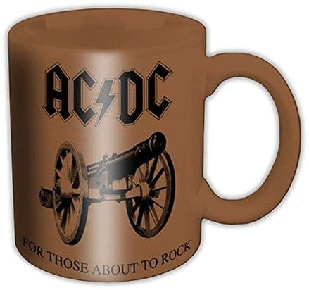 AC/DC For Those About To Rock Ceramic Mug