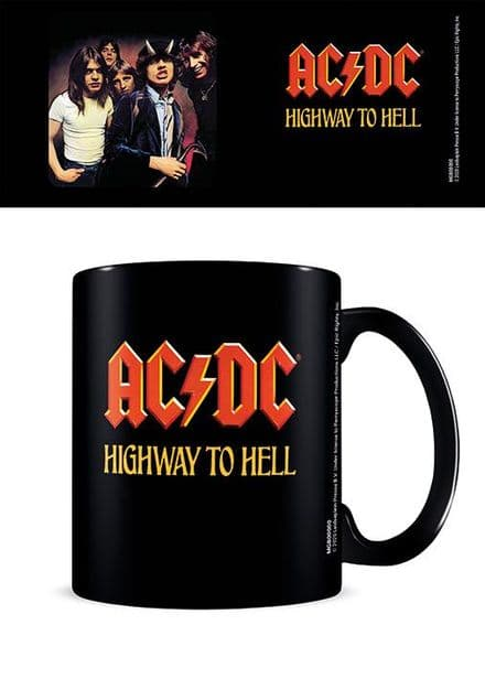 AC/DC (Highway To Hell) Black Coffee Mug