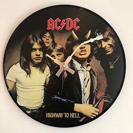 AC/DC Highway to Hell Vinyl Wall Clock