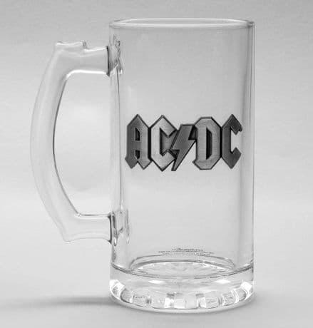 AC/DC Logo Glass Stein