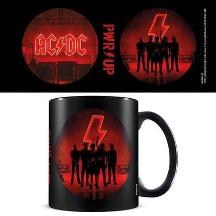 AC/DC (PWR/UP) Black Coffee Mug