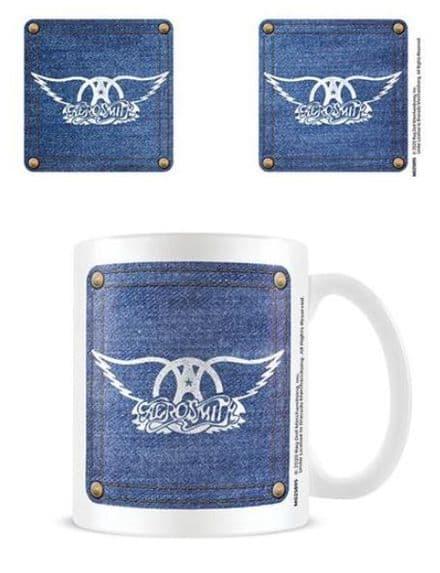 Aerosmith Demin Boxed Mug