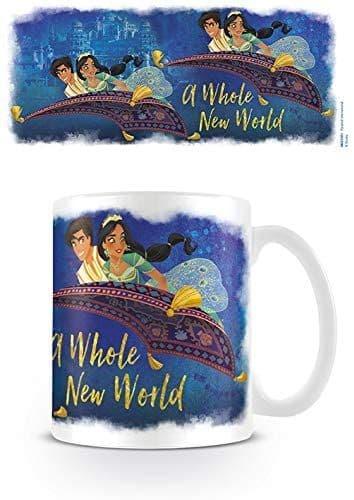 Aladdin Movie A Whole New World Official Disney Ceramic Mug