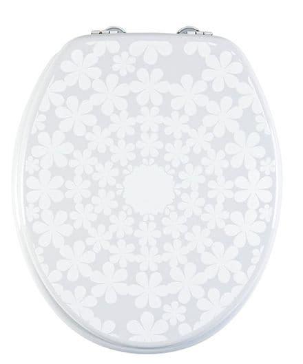 Aqualona Cirque De Fleur MDF Toilet Seat