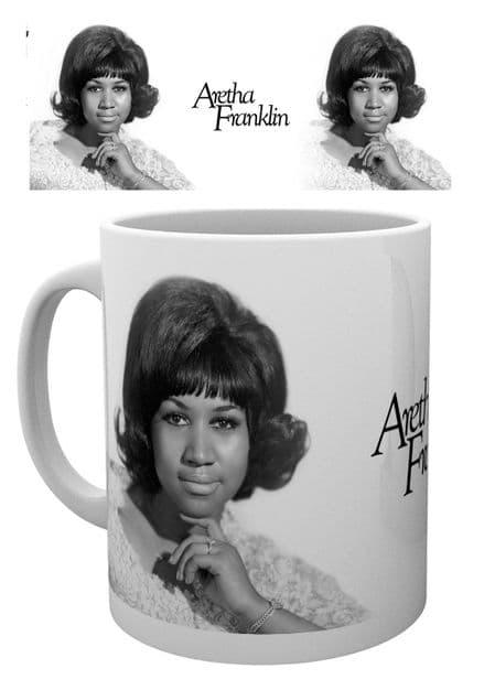 Aretha Franklin Ceramic Mug