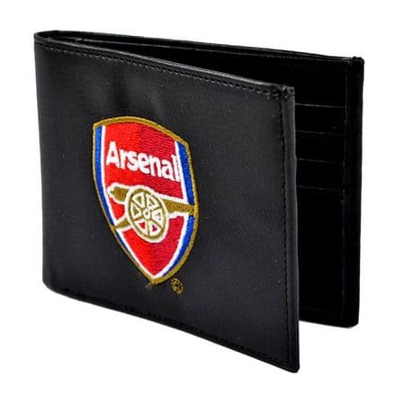 Arsenal Embroidered PU Leather Wallet