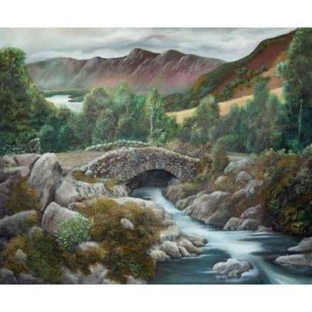 Ashness Bridge By David Yates 1000 Piece Puzzle