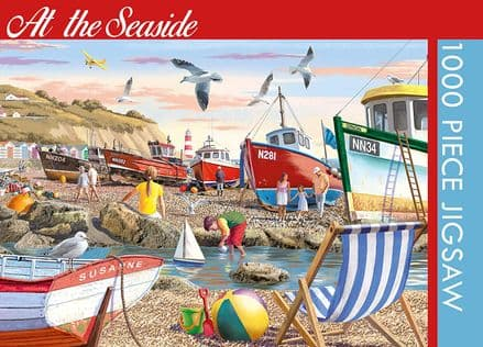 At The Seaside 1000 Piece Jigsaw Puzzle