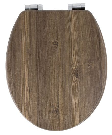 AWD Interiors  Wood Effect Toilet Seat