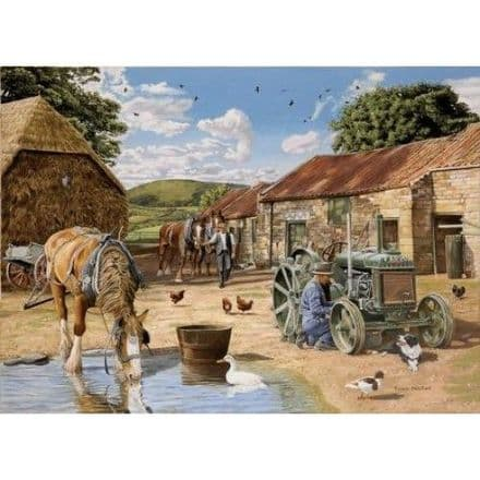 Back From The Fields 1000 Piece Jigsaw Puzzle