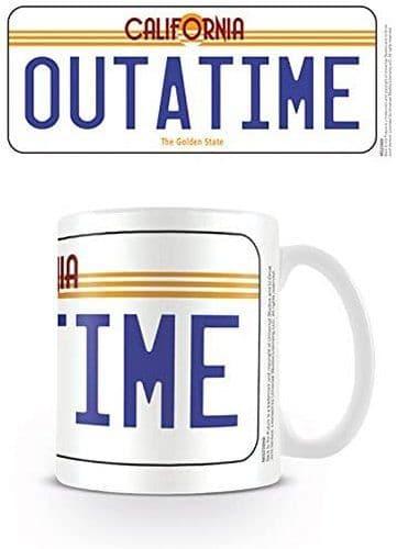 Back To The Future OUTATIME Ceramic Mug