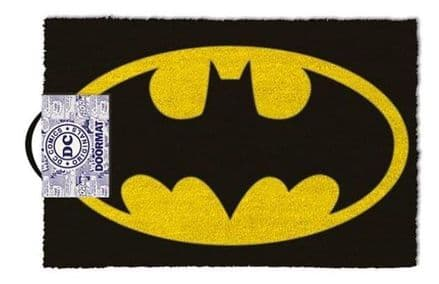 Batman Colour Logo Door Mat