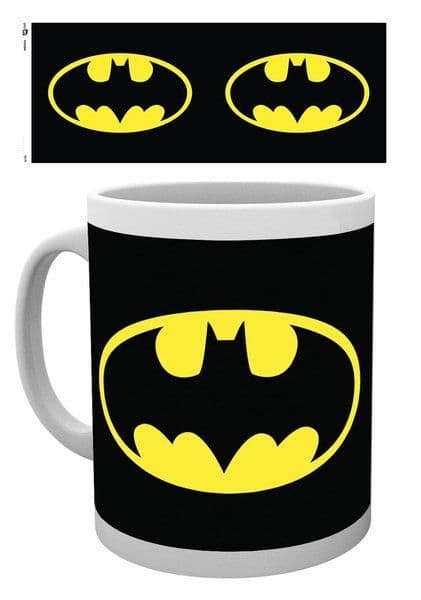 Batman Logo DC Comics Ceramic Mug