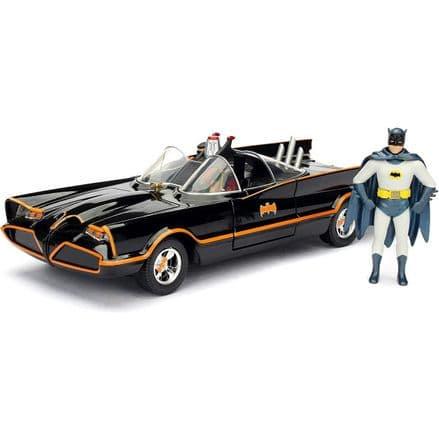 Batmobile Classic TV Series with Batman & Robin 1:24