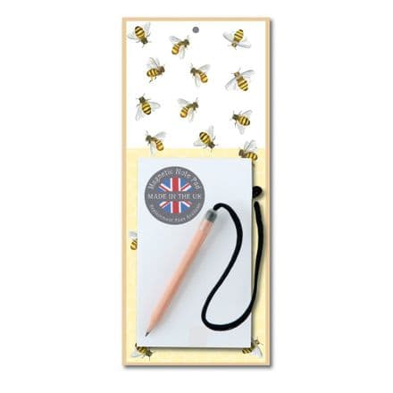 Bees Magnetic Notepad
