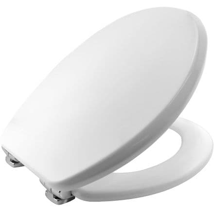 Bemis Silentium® White Toilet Seat 4402CL000