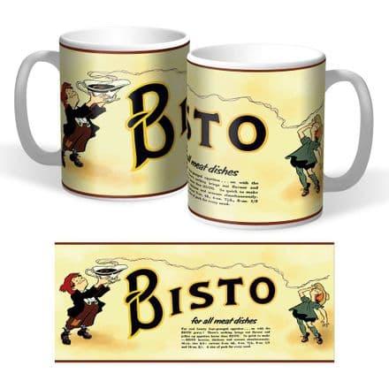 Bisto Retro Ceramic Mug