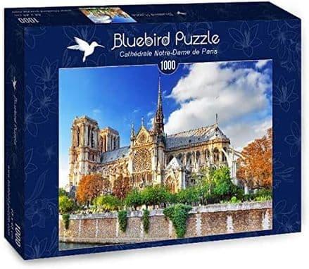 Bluebird Cathédrale Notre-Dame de Paris 1000 Piece Jigsaw Puzzle
