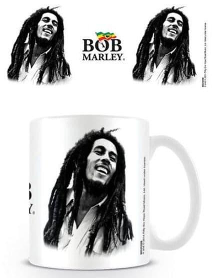 Bob Marley B & W Ceramic Mug