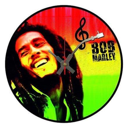 Bob Marley Vinyl Wall Clock