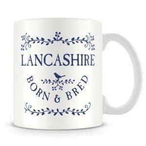 Born & Bred - Lancashire Ceramic Mug