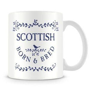Born & Bred - Scottish Ceramic Mug