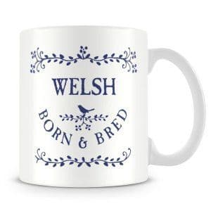 Born & Bred - Welsh Ceramic Mug