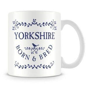 Born & Bred - Yorkshire Ceramic Mug