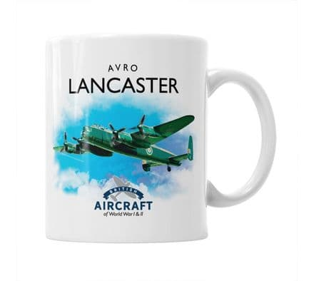 British Aircraft of WWI & WWII Mug: Avro Lancaster