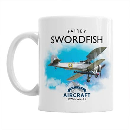 British Aircraft of WWI & WWII Mug:  Fairey Swordfish