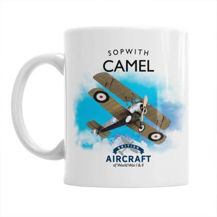 British Aircraft of WWI & WWII Mug: Sopwith Camel