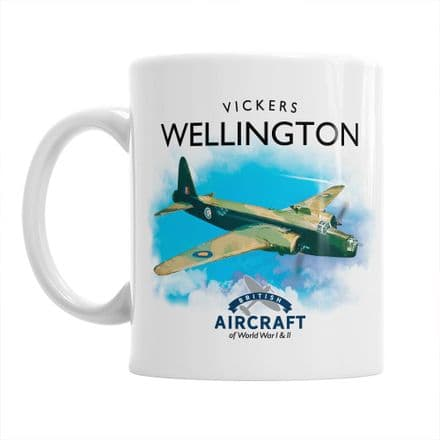 British Aircraft of WWI & WWII Mug:  Vickers Wellington
