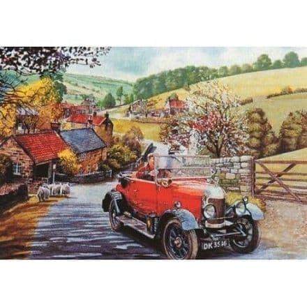 Bull Nose Morris 1000 Piece Jigsaw Puzzle