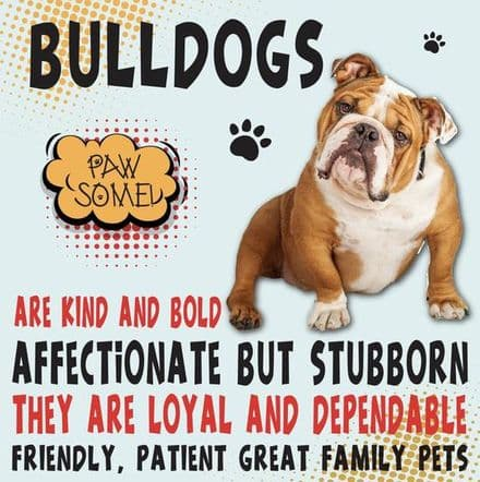 Bulldogs Metal Wall Sign