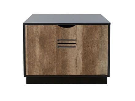 Cargo Blanket / Laundry Box Black & Wood Effect