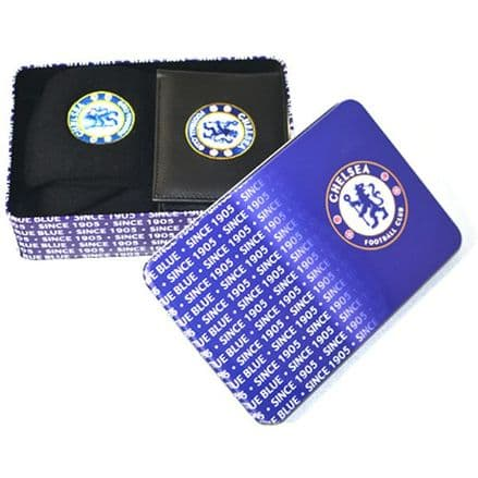 Chelsea Supporters Wallet and Socks Tin