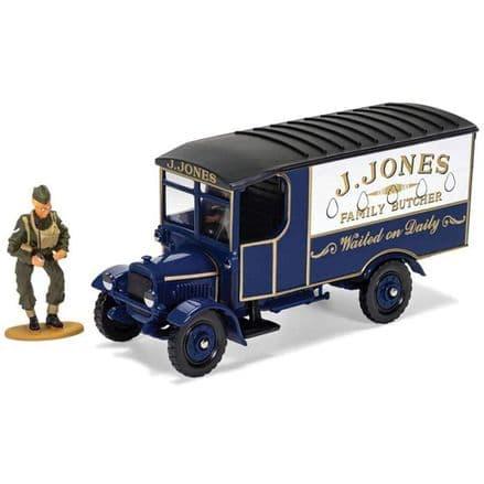 Dad's Army Corgi  J. Jones Thornycroft van and Mr Jones Figure CC09003