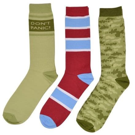 Dad's Army Socks (Set of 3)