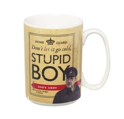 Dad's Army Stupid Boy Pike & Mainwaring Ceramic Mug