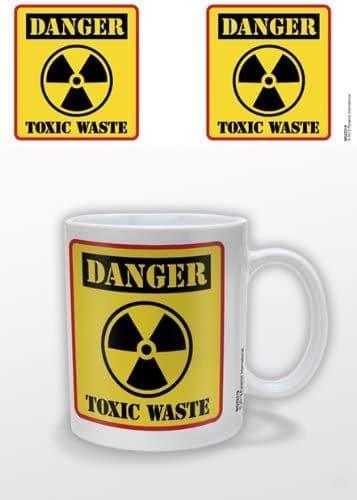 Danger Toxic Waste Ceramic Mug