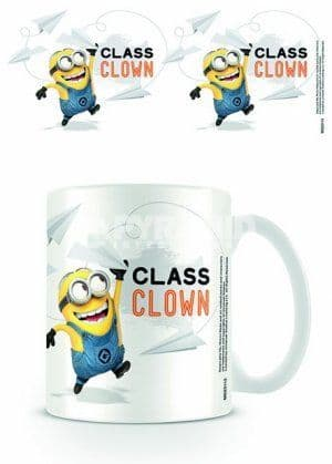 Despicable Me Class Clown Minion Mug
